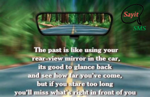 Past of Life is like a rear-view mirror