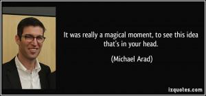 Michael Arad Quote
