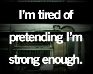 ... Tired Of Being Strong Quotes, Life, Drake Quotes, Does It Get Better