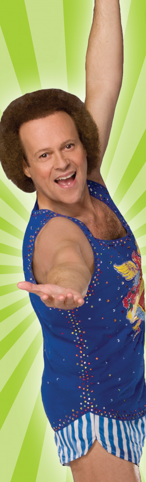 ... richard simmonsrichard simmons quotes by richard oct big fan of around