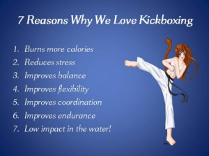 Aquatic Kicking Boxing - FUN and Effective for Cardio and Sculpting ...