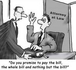 Why is it that many lawyers have broken noses?