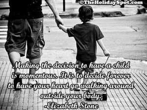 walking hand in hand with father, father's day quotes and quotations ...