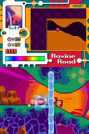 ... Thumbnail / Media File 1 for Kirby - Canvas Curse (U)(Trashman