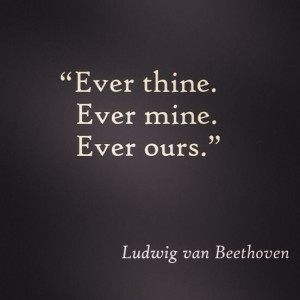 Beethoven love quote