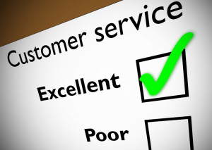 How do your customers rate you?