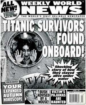 Titanic Survivors Found Board