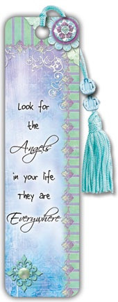 Angels are Everywhere - Beaded Bookmark