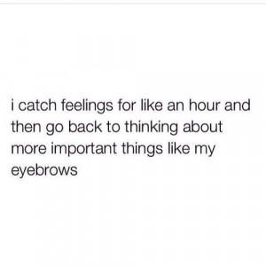 eyebrow quote