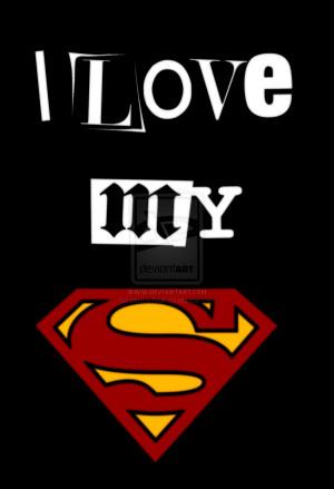 Love My Superman by snoopyboii