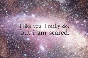 galaxy, glitter, i like you, i really do, like, scared, shine ...