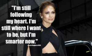 Jennifer Lopez Quotes About Life (getty images)
