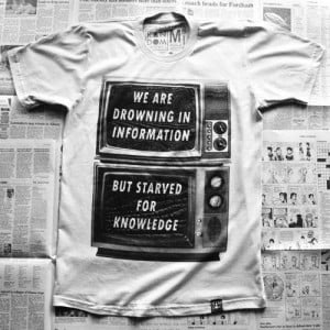We Are Drowning In Information But Starved For Knowledge ...
