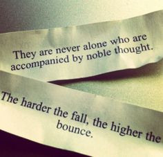 fortune cookie, hope, inspiration, instagram, love quote More