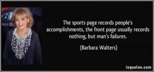 More Barbara Walters Quotes