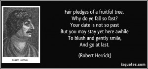 More Robert Herrick Quotes