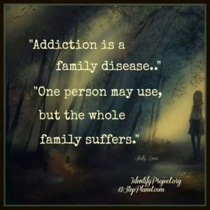 Your personal choices make us all a victim to your drug addiction