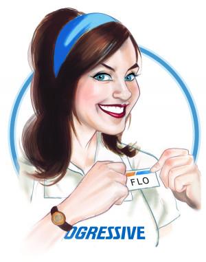 insurance girl stephanie courtney as flo for progressive insurance is