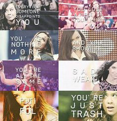 will kill dolph for saying this to aj! She's not trash