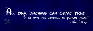 disney movie quotes about dreams