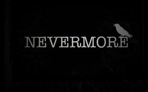 Dark - Animal The Raven Nevermore Edgar Allan Poe Bird Black Wallpaper