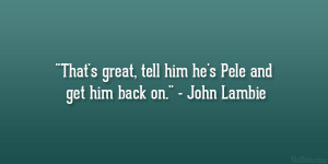 Great Sports Quotes
