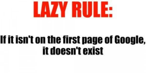 funny, funny quotes, google, lazy, quote, rule, true