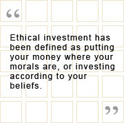what is ethical investment ethical investments tend to use negative ...