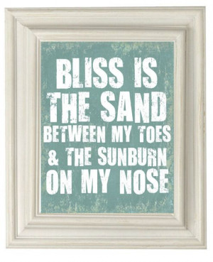 Beach Quote Prints