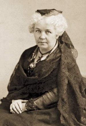 Born this day in 1815: Elizabeth Cady Stanton (1815–1902), founder ...