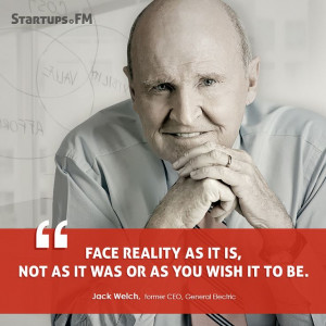 Jack Welch- Former CEO of @GE, he believes in facing reality the way ...
