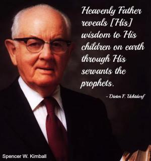 Re: Prophets of