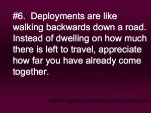 New Life Army Wife Deployment Quotes