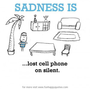 Lost Cell Phone Quotes Funny