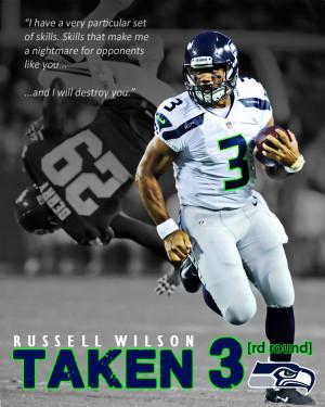 Russell Wilson - Taken