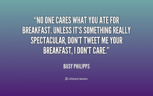 No One Really Cares Quotes