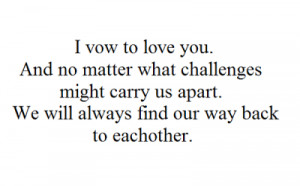 The Vow Tumblr Quotes Couples - leo ღ paige ♥ the