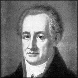 The last words of Johann Wolfgang von Goethe