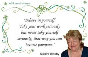 Maeve Binchy quote