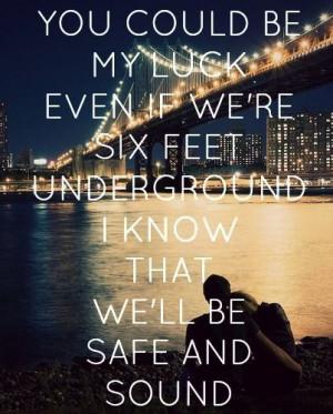 safe and sound capital cities lyrics |