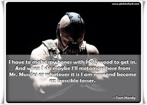 Tom Hardy Workout – Compare Bane, Warrior and Bronson