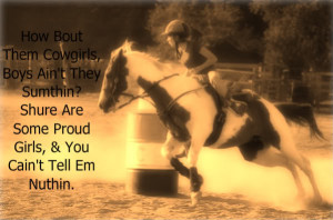 barrel racing quotes sayings