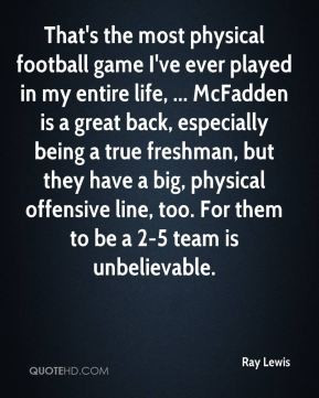 Ray Lewis Football Life Quotes