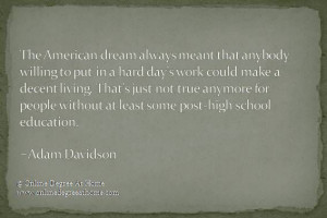 ... Adam Davidson #Quoteseducation #Quoteeducation #Quoteabouteducation
