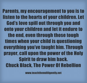heart of Rebellion Chuck Black,Teach Them Diligently Convention