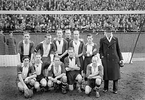 AMSTERDAM - Het elftal van VUC voor de wedstrijd tegen Ajax. ANP PHOTO ...