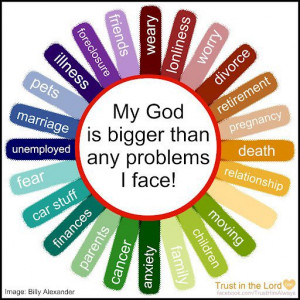 Our Father God Is Bigger Than Our Problems We Face