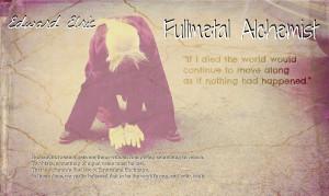 fullmetal alchemist quotes equivalent exchange