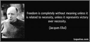 Jacques Ellul, Christian Anarchist.