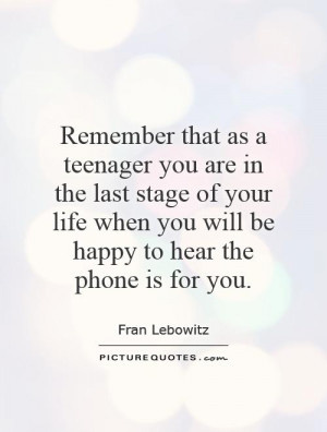 Teenage Quotes